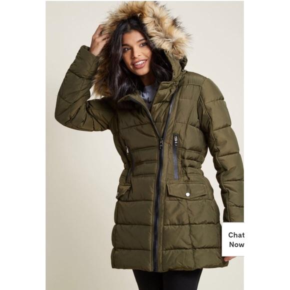 7dd2a0d68e748 Plus size Steve Madden puffer coat